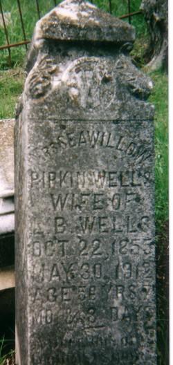 Seawillow Margaret Ann <I>Pipkin</I> Wells
