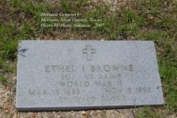 Ethel I Browne