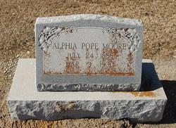 Alphia <I>(Pope)</I> Moore