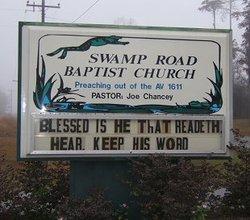 Swamp Road Baptist Church Cemetery