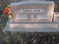 Clara May <I>Bailey</I> Kirkland