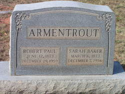 Robert Paul Armentrout