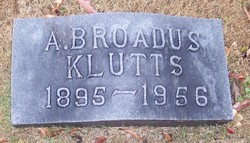 Alvin Broadus Klutts