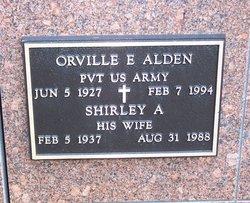 Orville E Alden