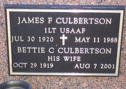 James F Culbertson