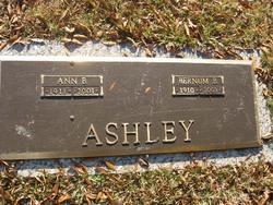 Ann <I>Bagwell</I> Ashley