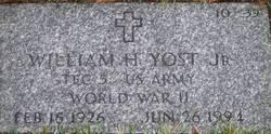William H Yost, Jr