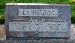 Amy <I>Perry</I> Langford