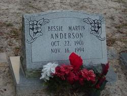 Bessie <I>Martin</I> Anderson