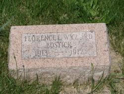 Florence <I>Wyzard</I> Bostick