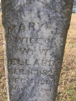 Mary Jane <I>Barton</I> Ellard