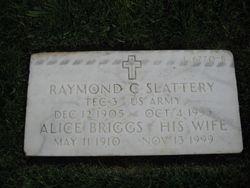 Raymond C Slattery
