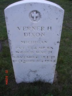 Verner H Dixon