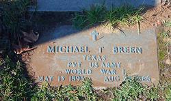 Michael T Breen