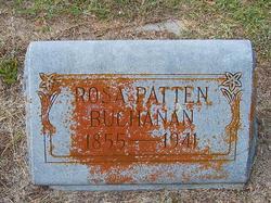 """Sarah Rosalie """"Rosa"""" <I>Patten</I> Buchanan"""