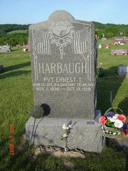 Pvt Ernest T. Harbaugh