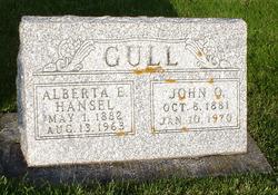 Alberta Elizabeth <I>Hansel</I> Gull
