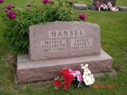 Elizabeth <I>Grace</I> Hansel