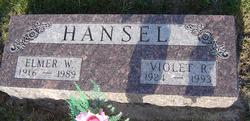 Violet R. <I>Koehn</I> Hansel