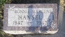 Bonnie Marlene Hansel