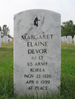 Margaret Elaine Devor