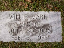 Willie Mabel Moore