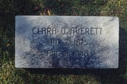 Clara Bell <I>Oliver</I> Averett