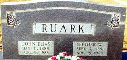 Leether <I>Walker</I> Ruark