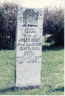 Jane <I>Seaton</I> Hunt
