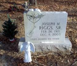Joseph Marion Riggs, Sr