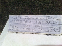 Gertrude <I>Alston</I> Royer