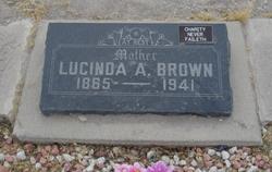 Lucinda Araminta <I>Stewart</I> Brown
