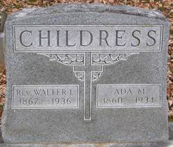 Rev Walter Lomax Childress