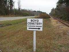 Cushion Swamp Cemetery