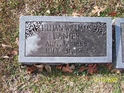 Lillian <I>Williams</I> Lanier