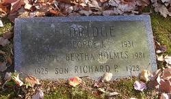 Bertha <I>Holmes</I> Eldridge