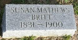 Susan Ellen <I>Mathews</I> Britt
