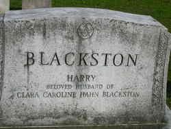 Clara Caroline <I>Hahn</I> Blackston