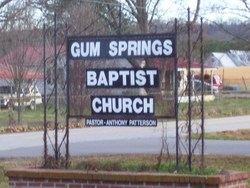 Gum Springs Baptist Church Cemetery