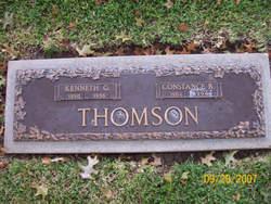 Constance Jewel <I>Redus</I> Thomson