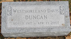 Westmoreland Davis Duncan