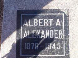 Albert August Alexander