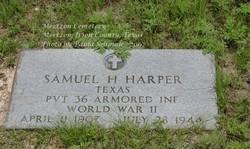 Samuel H Harper