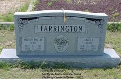 Hazel Inez <I>Lawson</I> Farrington