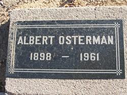 """Carl Albert """"Albert"""" Osterman"""
