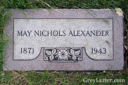 May Nichols Alexander