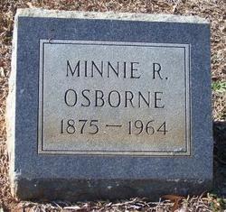 Minnie Louise <I>Rigler</I> Osborne