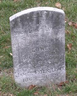 James Polk Lowe 1865 1869 Find A Grave Memorial