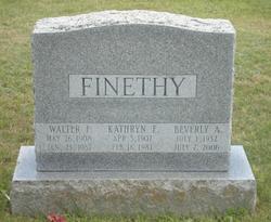 Walter F. Finethy