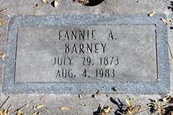Fannie A. <I>Dundom</I> Barney